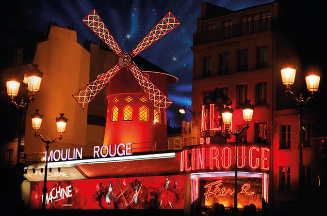 Le Moulin rouge de Paris